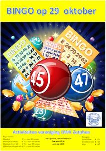 Bingo in het DWK-gebouw