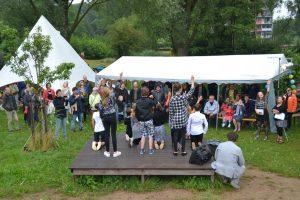 Eerste midzomeravondfestival in Wijnhofpark