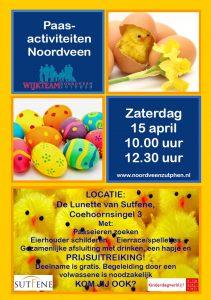 Uitnodiging Paasactiviteiten Noordveen