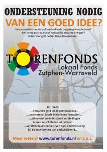 Torenfonds biedt ondersteuning en financiën bij initiatieven voor de wijk