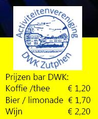 Prijzen bar DWK 2015