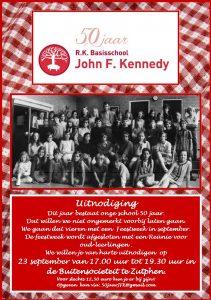 Reunie oud-leerlingen John F. Kennedyschool