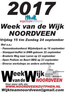 Voorbereidingen Week van de Wijk 2017