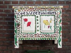 Een lees/ leenbibliotheek in onze wijk Noordveen!