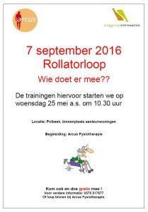 Rollatorloop Arcus en Polbeek
