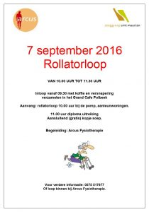 Rollatorloop Arcus en Polbeek