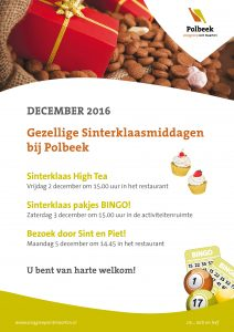 Sinterklaasactiviteiten in Polbeek