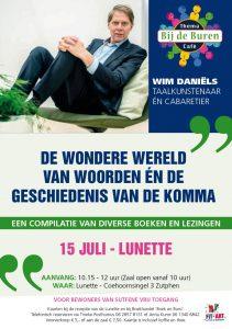 Themacafé met Wim Daniels