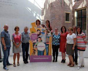 Dinsdag 6 september promotieteam WeHelpen in Noordveen