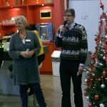 Andrea en Lex van St Stadsonderneming Zutphen tijdens startmoment 1DagNiet Zutphen