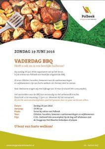 Vaderdag BBQ in Polbeek voor bewoners Noordveen