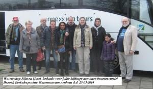 Wijkbewoners bezoeken Berkelexpositie in Arnhem op Wereld Waterdag