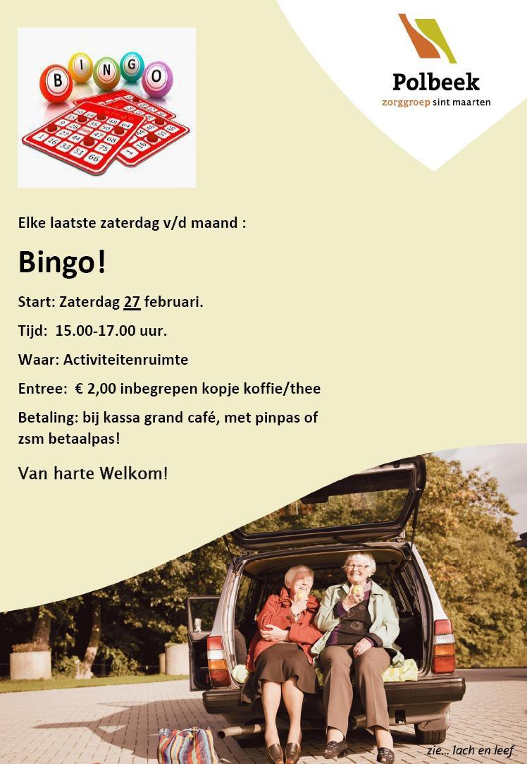 Bingo Polbeek 2016