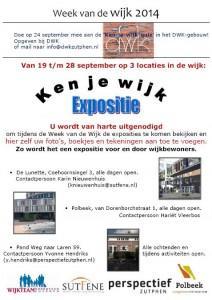 'Ken-je-wijk'-expositie voor & door wijkbewoners