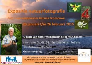 Expositie natuurfotografie door samenwerking in de wijk
