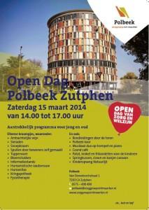 Flyer open dag van zorg en welzijn Polbeek 15032014