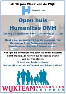 Open huis Humanitas DMH