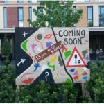 Aankondiging kunstklussen Polbeek juni 2014