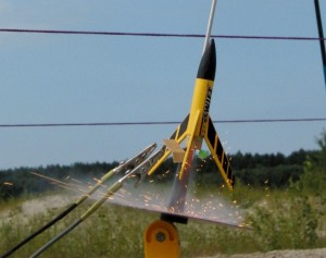 Raket modelbouw infodag in het DWK-gebouw