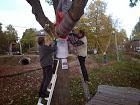 Wijkbewoners geven speeltuin Praebsterkamp een winterjas!