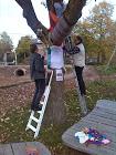 Aanbrengen winterjas speeltuin Praebsterkamp okt 2014