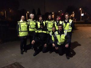 Teamleden deden met de politie mee aan de landelijke actie 1 Dag Niet 2016