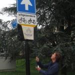 Onthulling buurtpreventiebord Van Dorenborchstraat 27 aug 2015