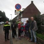 Onthulling buurtpreventiebord Schimmelpennincklaan 27 aug 2015