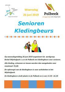 Seniorenkledingbeurs in Polbeek