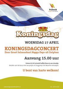 Koningsdagconcert in Polbeek