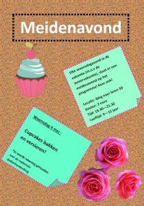 Meidenavond!! Cupcakes bakken en versieren