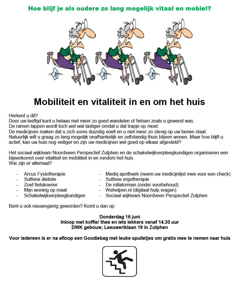 Mobiliteit en vitaliteit in en om het huis 16062016