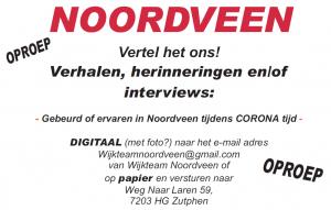 Oproep: Herinneringen uit Corona-tijd in Noordveen