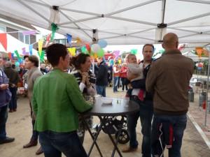 Feest Van der Capellenlaan 5 okt 2014
