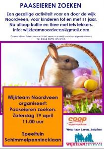 Flyer Paasactiviteit Noordveen 2014