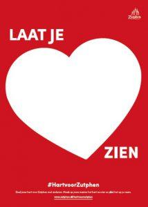 Laat je hart zien voor Zutphen!