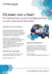 InloopVrijwilligerscentrale in Noordveen