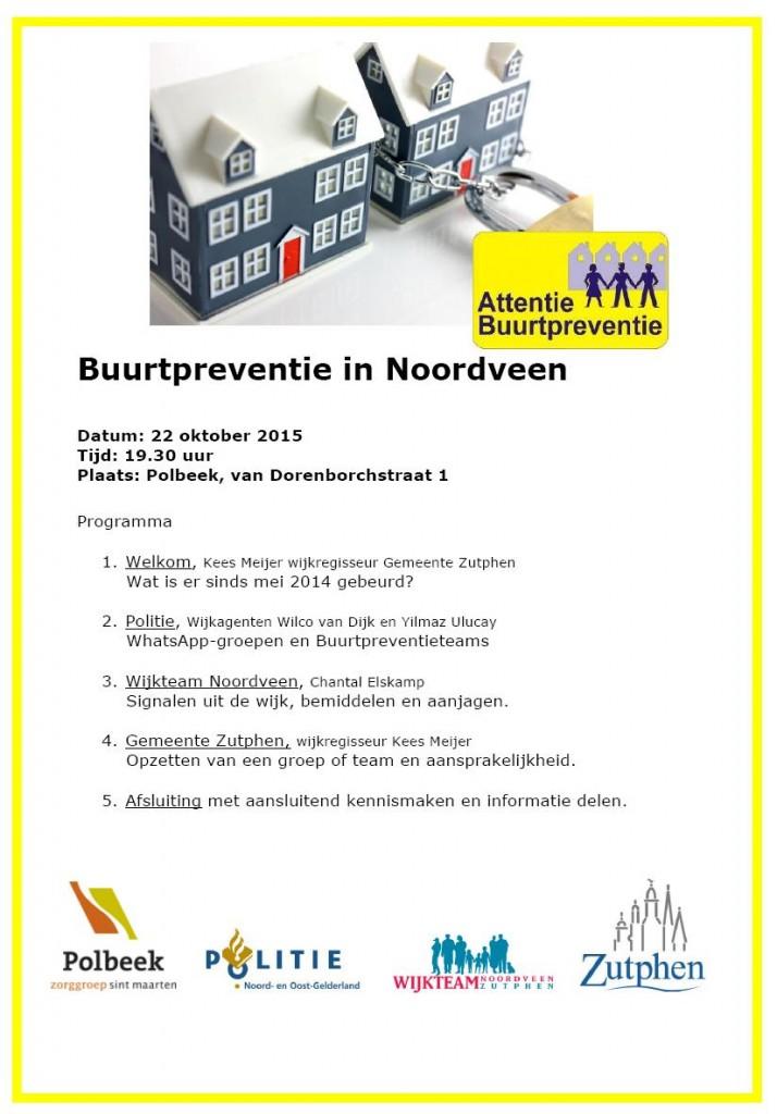 Programma Infoavond buurtpreventie 22102015