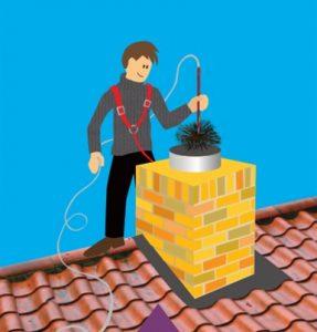 Brandweer adviseert; zorg voor een schone schoorsteen!