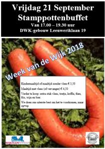 Programma vrijdag 21 september – Week van de Wijk 2018
