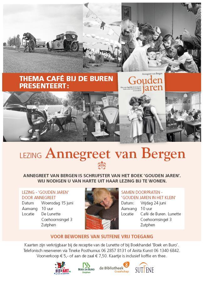 Themacafé Gouden Jaren 15 en 24 juni 2016