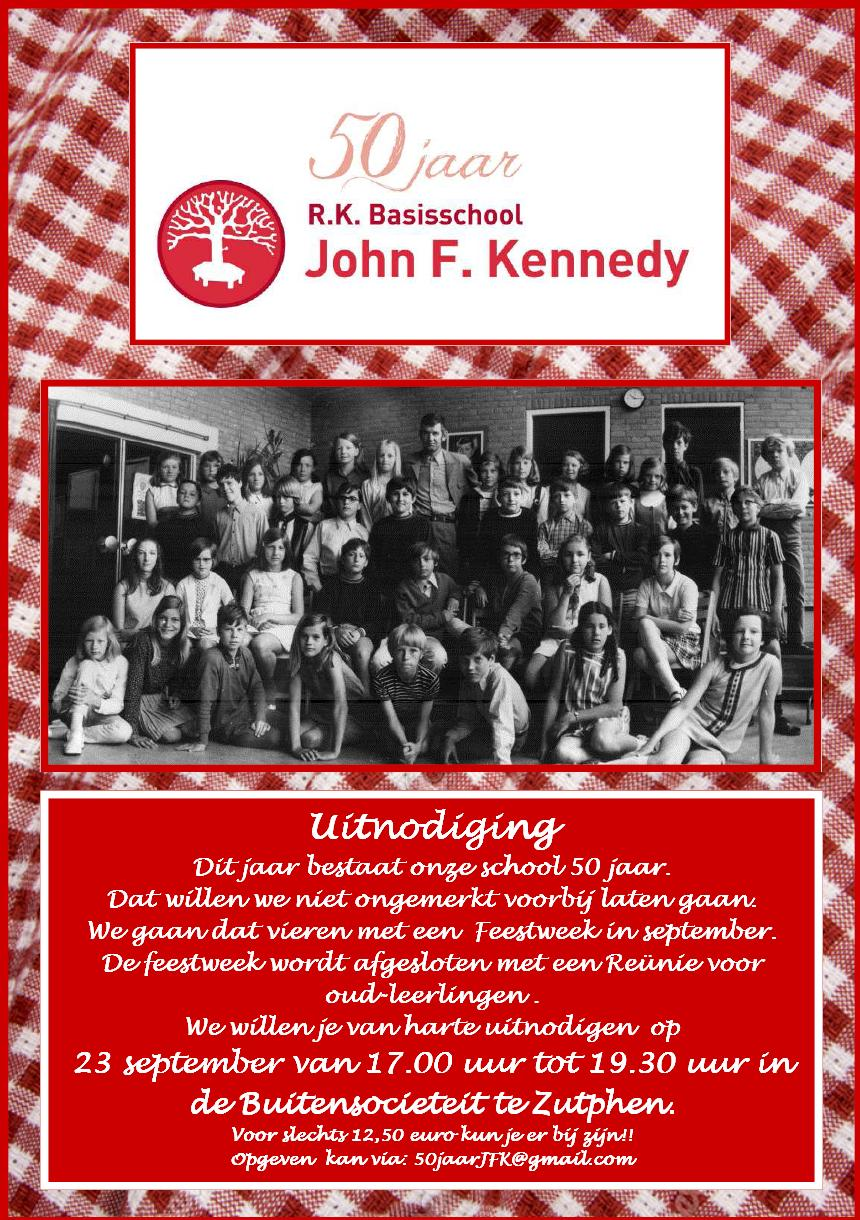 Uitnodiging jubileum reunie 23092016