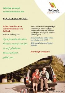 Voorjaarsmarkt in Polbeek