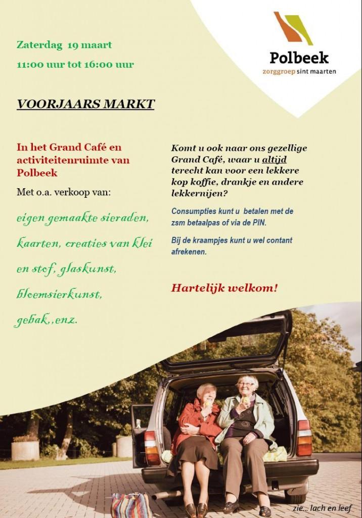 Voorjaarsmarkt Polbeek 2016