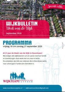 Wijkbulletin met info over de wijk Noordveen