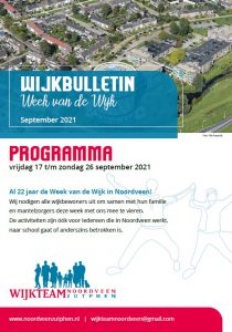 Wijkbulletin Noordveen 2021