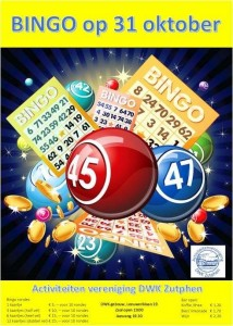 Bingo-avond met opbrengst voor jeugdactiviteiten