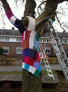 Een grotere winterjas voor speeltuin Praebsterkamp