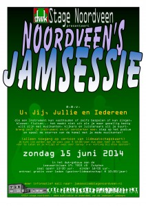 Poster Jamsessie 15 juni 2014