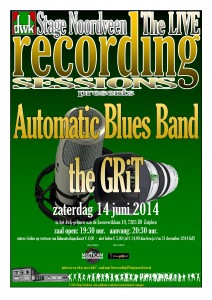 Poster The Live Recording Sessions 14 juni 2014